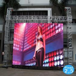 Rótulo electrónico LED Interior  Serie FIJA Pixel 4 RGB Full Color  51x51cm -Módulo Apilable