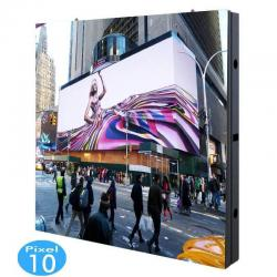 Rótulo electrónico LED Exterior Serie FIJA Pixel 10 / RGB Full Color 96x96 cm- 0,92m2 -Módulo Apilable