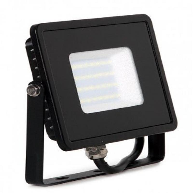 Foco Proyector Exterior Negro 30W IP65 Elegance 3 años de garantia - Imagen 1