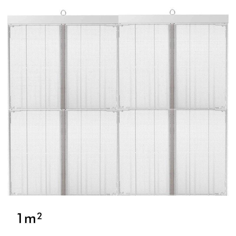 Rótulo electrónico LED Interior Serie MAGIC GLASS 1m2 (4 Modulos +Control) - Imagen 1