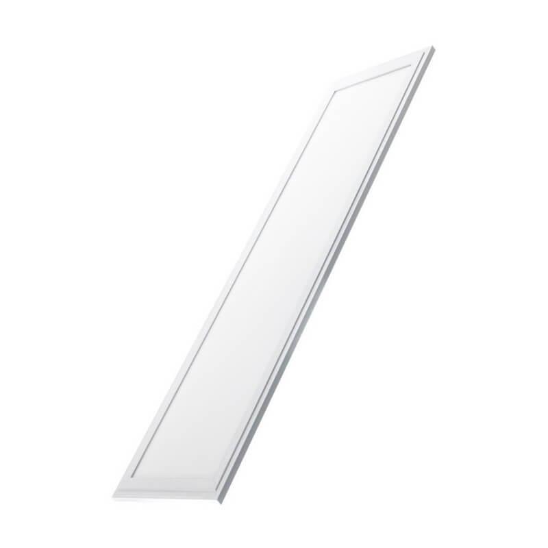Panel LED 120X30 cm 45W Marco Blanco - Imagen 1