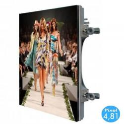 Rótulo electrónico LED Exterior Serie RENTAL Pixel 4.81 RGB Full Color 50x50 cm -Módulo Apilable
