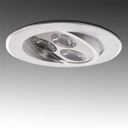 Foco Downlight LED Ecoline Circular 3W 300Lm 30.000H - Imagen 1