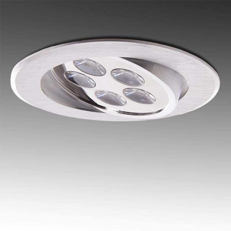 Foco Downlight  LED Ecoline Circular 5W 500Lm 30.000H - Imagen 1