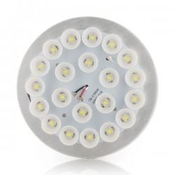 Disco Foco Downlight  Ø149X44Mm (Para Sustituir a 2 X Pl 26W) 22W 1980Lm 30.000H
