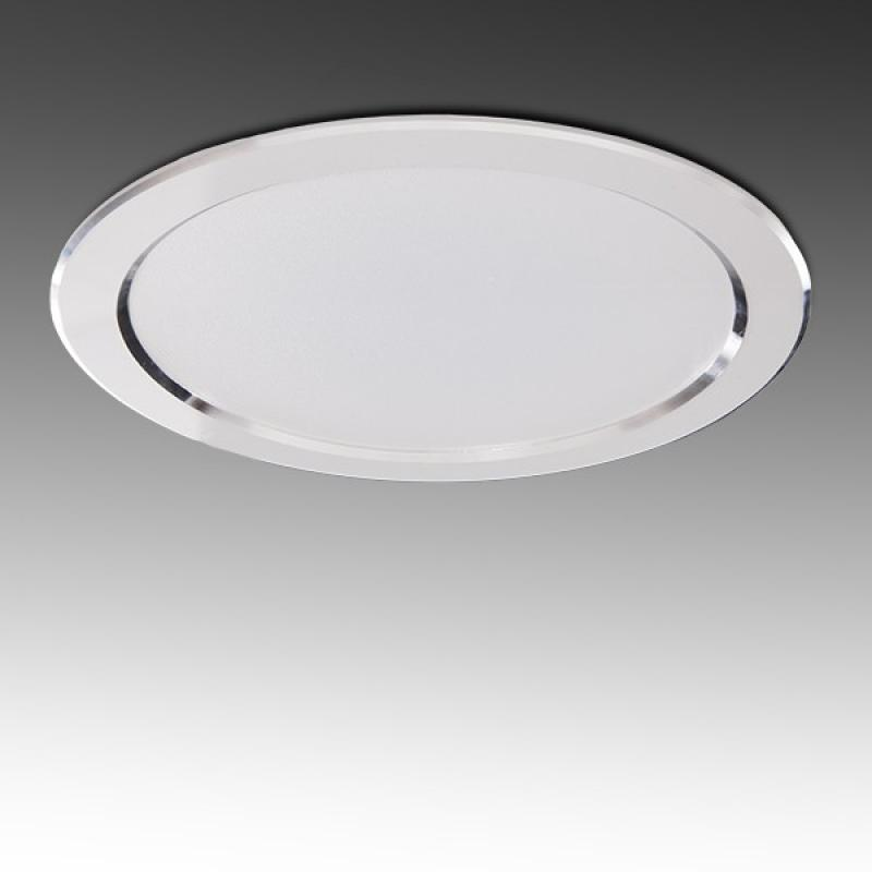 Foco Downlight LED Circular 24W 2160Lm 30.000H Corte 184Mm - Imagen 1