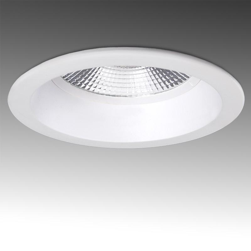 Foco Downlight Circular LED Anti-Deslumbrante COB 24W 2400Lm 30.000H - Imagen 1