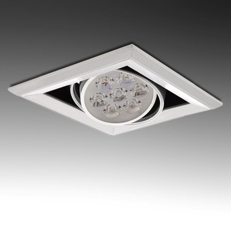 Foco Downlight  LED Cuadrado 7W 700Lm 30.000H - Imagen 1