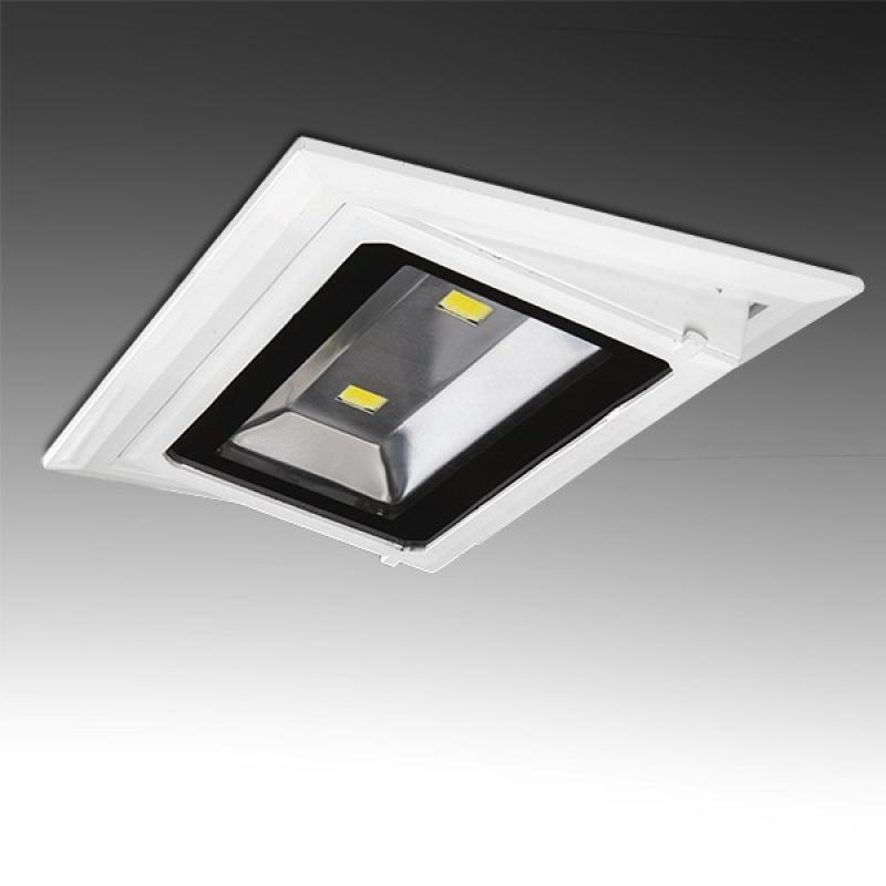 Foco Downlight LED Rectangular Basculante COB 20W 1800Lm 30.000H - Imagen 1