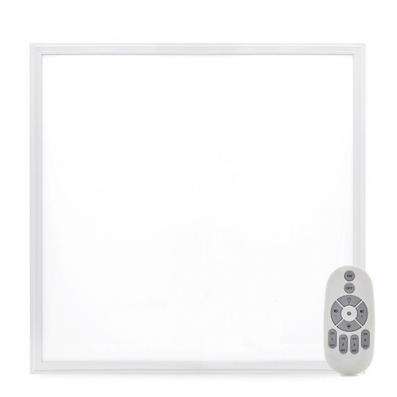 Panel LED 595X595X12Mm Marco Blanco Mando a Distancia (Intensidad-Cct) 36W 2380Lm 30.000H - Imagen 1
