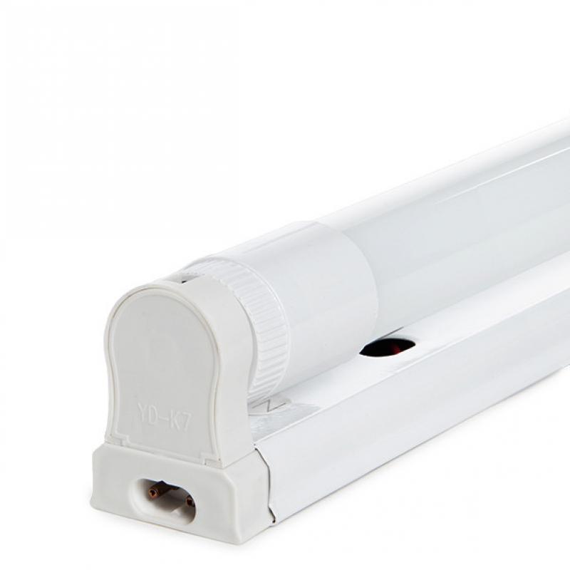 Luminaria LED T8 con Tubo LED Cristal 1200Mm 20W 1800Lm 25.000H - Imagen 1
