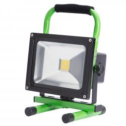 Proyector Recargable Led para Exterior 20W 2000Lm