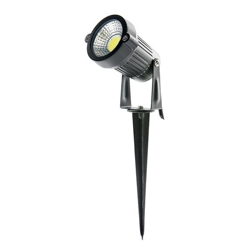 Foco LED COB con Pincho para Jardínes 5W 450Lm 30.000H - Imagen 1