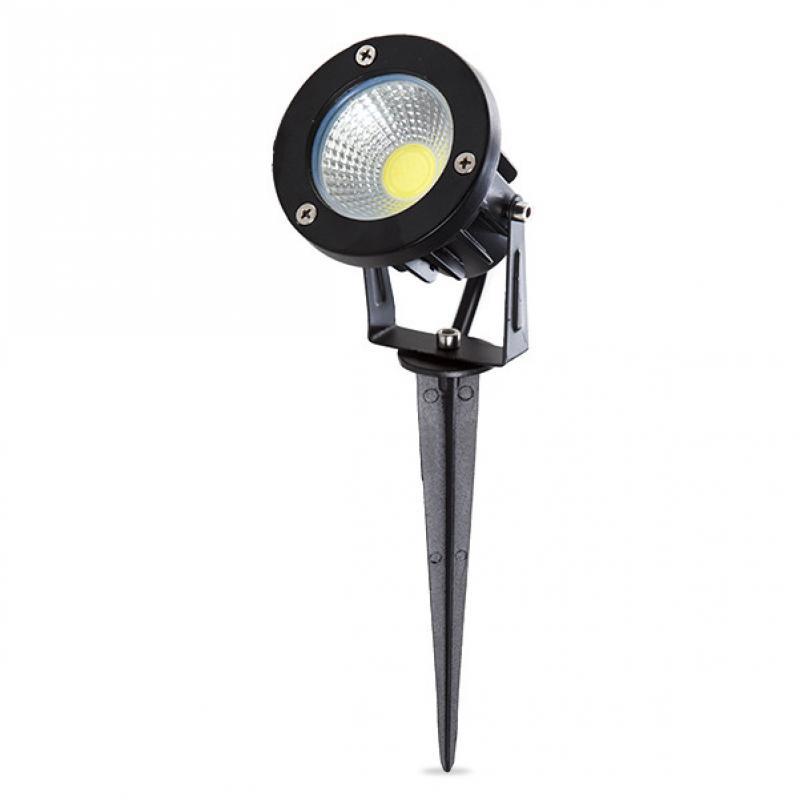 Foco LED con Pincho para Jardínes 9W 810Lm 50.000H - Imagen 1