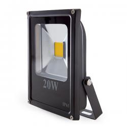 Foco Proyector Led para Exterior 20W 1400lm 30.000H ECOLINE