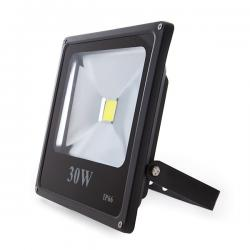 Foco Proyector Led para Exterior 30W 2100lm 30.000H ECOLINE