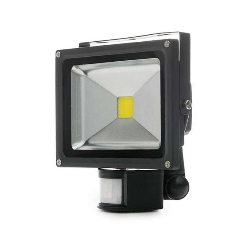 Foco Proyector LED IP65 Detector Movimiento 20W 1800Lm 30.000H - Imagen 1