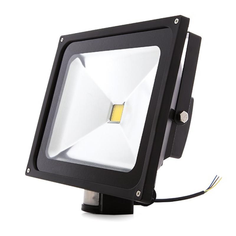 Foco Proyector LED IP65 Detector Movimiento 50W 4250Lm 30.000H - Imagen 1