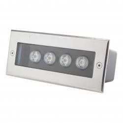 Foco LED Empotrar Rectangular IP67 4W 360Lm 30.000H Cecilia