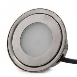 Foco LED Empotrar IP67 0,5W 50Lm 12VDC Cable 1M/Ector Macho 50.000H Valeria