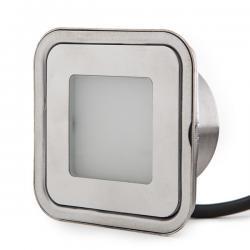 Foco LED Empotrar IP67 0,9W RGB 12VDC Cable 1M/Ector Macho 50.000H Finley - Imagen 1
