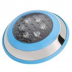 Foco de Piscina Led Montaje Superficie Ø230Mm 6W Multicolor con Mando