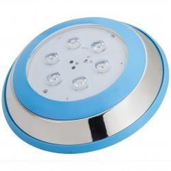 Foco de Piscina Led Montaje Superficie Ø230Mm 6W Blanco Natural - Imagen 1
