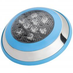 Foco de Piscina Led Montaje Superficie Ø230Mm 9W Multicolor con Mando