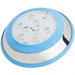 Foco de Piscina Led Montaje Superficie Ø230Mm 9W Blanco Natural - Imagen 1