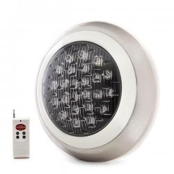 Foco de Piscina Led Montaje Superficie Ø300Mm 24W Multicolor con Mando