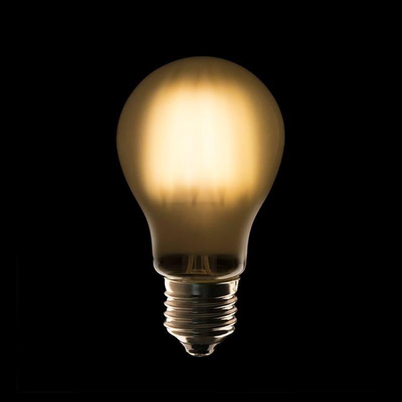 Bombilla Filamento A60 LED E27 4W 440Lm Opal 40.000H - Imagen 1