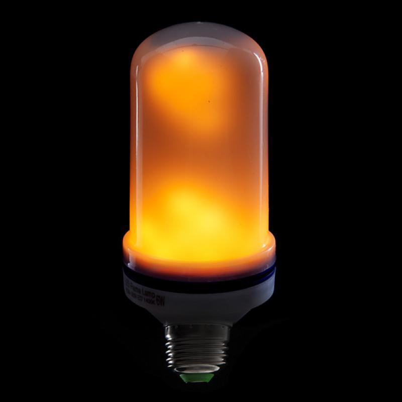 Bombilla LED Efecto Llama E27 5W 25000H - Imagen 1