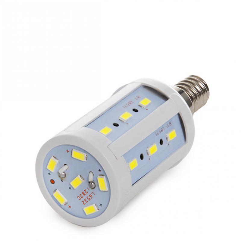 Bombilla E14 24 LEDs 5730SMD 5W 480Lm 30.000H - Imagen 1