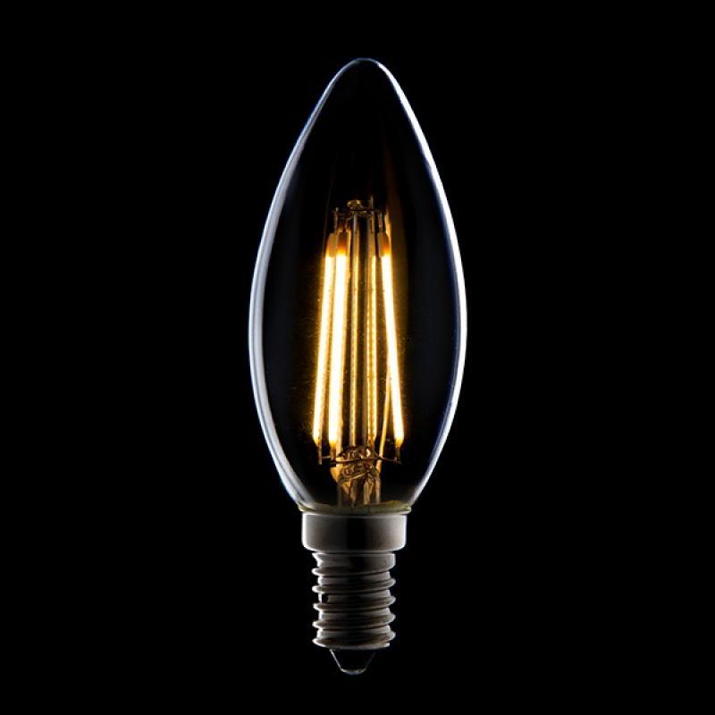 Bombilla Filamento LED Dimable E14 4W 380Lm 30.000H - Imagen 1
