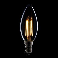 Bombilla Filamento LED E14 4W 380Lm 30.000H - Imagen 1