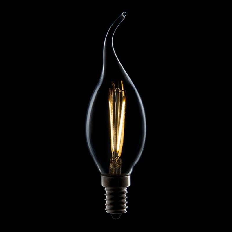 Bombilla Filamento LED E14 4W 400Lm 30.000H - Imagen 1
