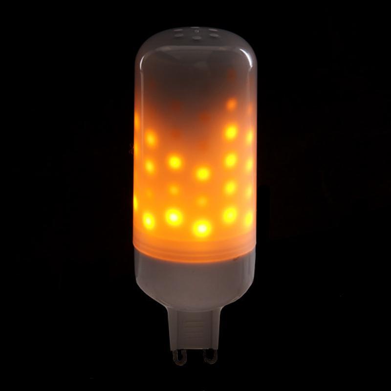 Bombilla LED Efecto Llama G9 3W 25000H - Imagen 1
