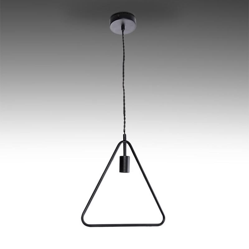 Lámpara Colgante Hierro E27 Negro (Sin Lámpara) Mya - Imagen 1