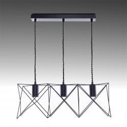 Lámpara Colgante Hierro E27 Negro (Sin Lámpara) Laila - Imagen 1