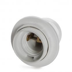 Portalámparas E27 Blanco - Imagen 1