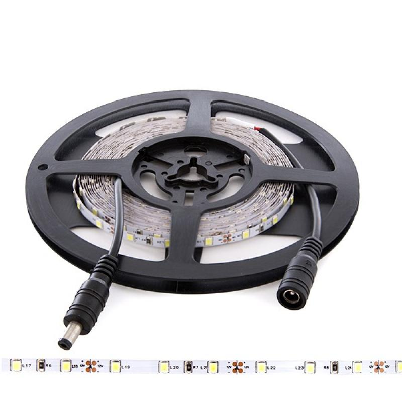 Tira LED 12VDC SMD3528 60Xm 5Mm Ancho IP25 5M - Imagen 1