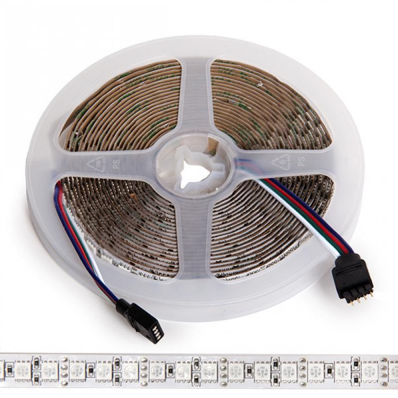 Tira LED 600 X SMD5050 12VDC RGB IP21 5M - Imagen 1