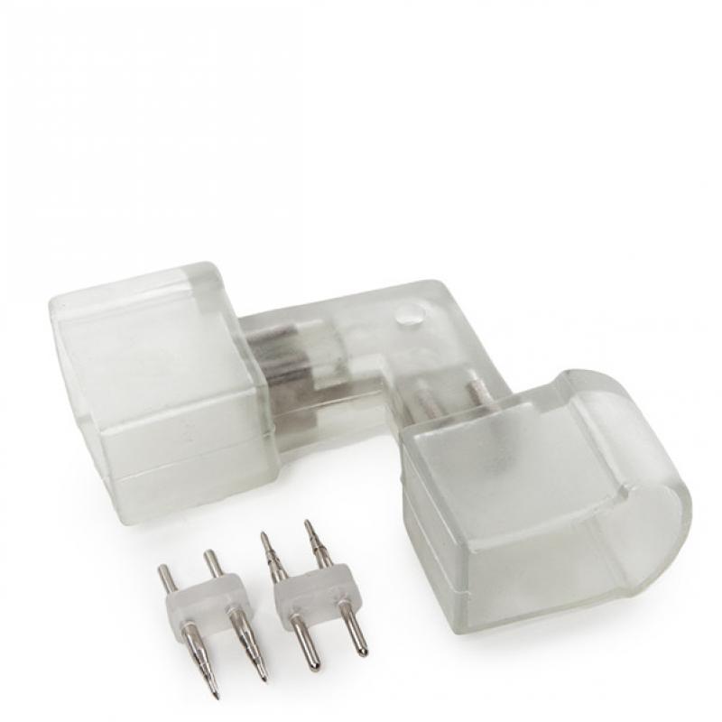 Conector L Neon Flex 80 - Imagen 1