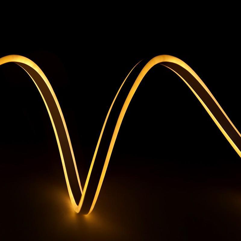 Manguera Neon Flex Emisión Lateral Doble SMD2835 220-230VAC 12W/M (Por Metro) - Imagen 1