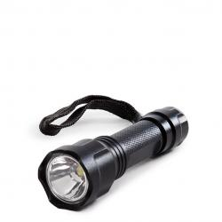Linterna LED 100Lm Negra