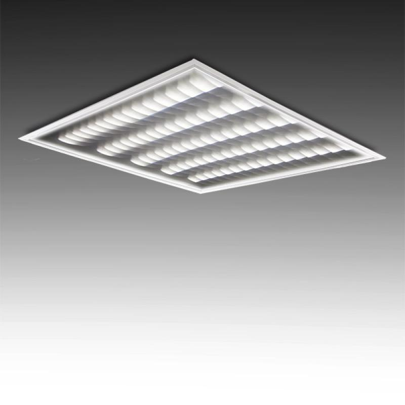 Panel LED 3D 600 X 600Mm Fila Doble 36W 3960Lm 30.000H - Imagen 1