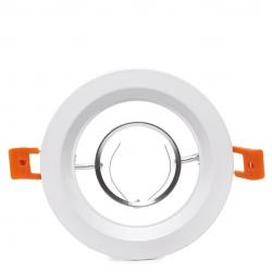 Aro Foco Downlight Circular Blanco 120Mm