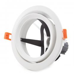 Aro Foco Downlight Par 30 E27 (Sin Lámpara) Blanco