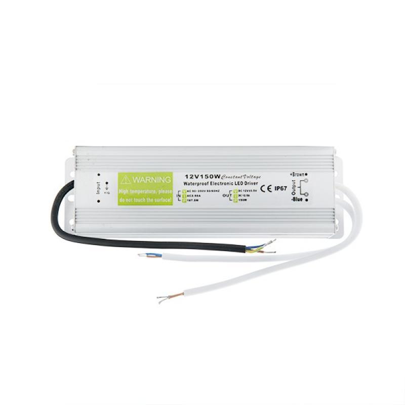 Transformador LED 150W 230VAC/12VDC IP67 - Imagen 1