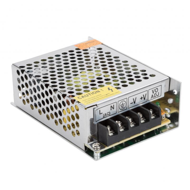 Transformador LED 12VDC 60W/5A IP25 - Imagen 1